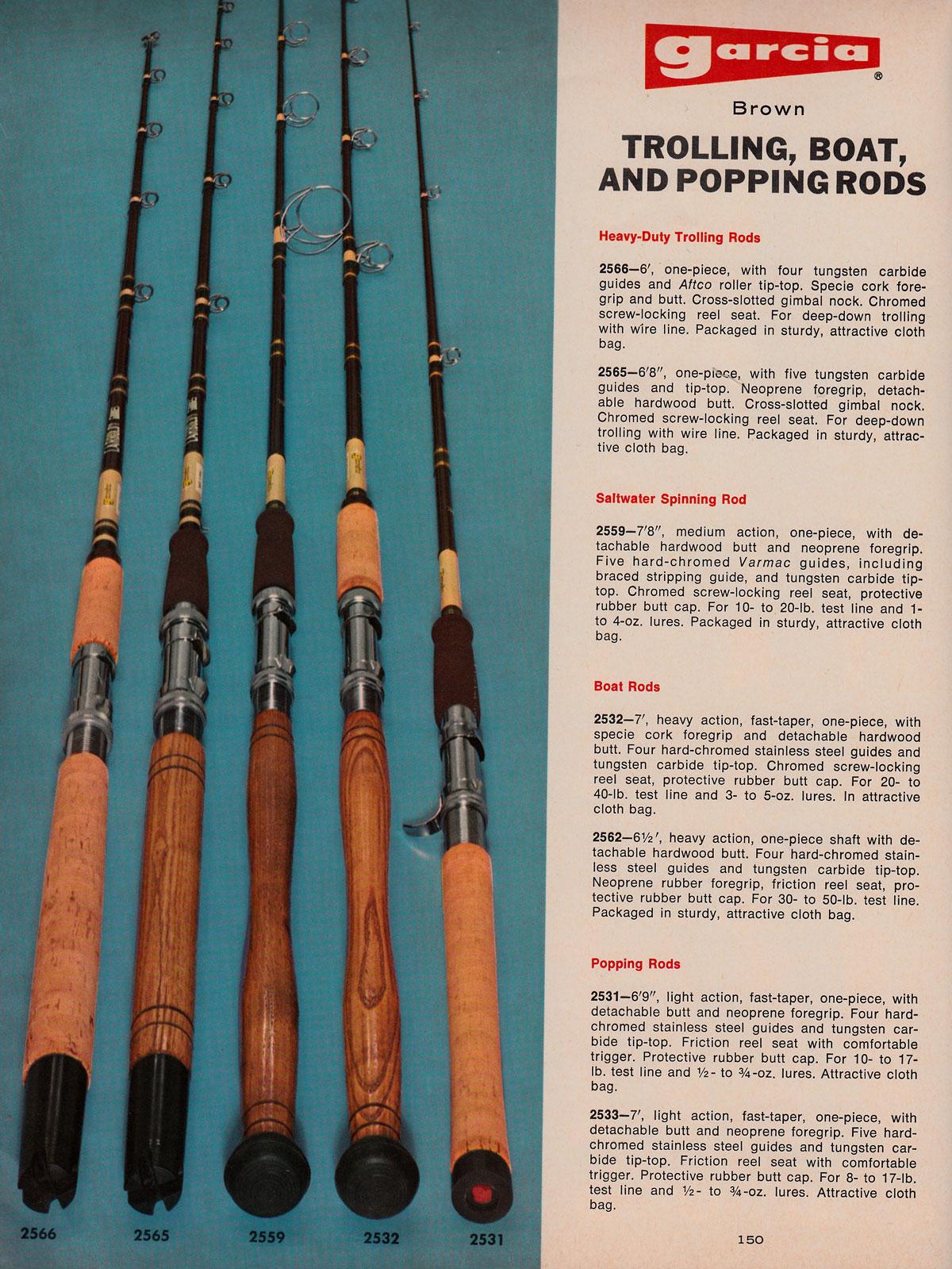 fishing vintage annuals garcia